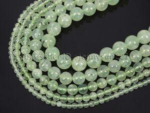 Grade-AAA-Natural-Prehnite-Gemstone-Round-Beads-15-5-039-039-4mm-6mm-8mm-10mm-12mm
