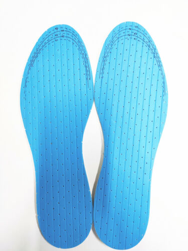 2 Pairs Orthotic Shoe Insoles Foot Support Soft Latex Insert Soles Pad Men Women