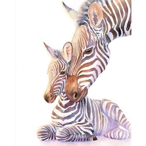 DIY Diamond Painting Nursery Zebra Embroidery Cross Stitch Diamond Needlework NI