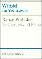Dance Preludes For Clarinet And Piano Book 014019652