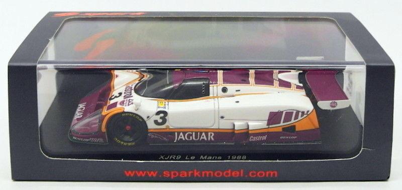 SPARK MODELS échelle 1 43 S4718-Jaguar XJR9  3 LM'88-Pescarolo WATSON BOESEL