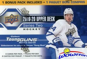 2019-20-Upper-Deck-Series-2-Hockey-HUGE-Factory-Sealed-Blaster-Box-YOUNG-GUN-RC