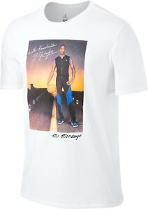 951cc8bb4cf6 Men s Jordan Sports Wear MJ Mondays Design Short Sleeve T-Shirt ...