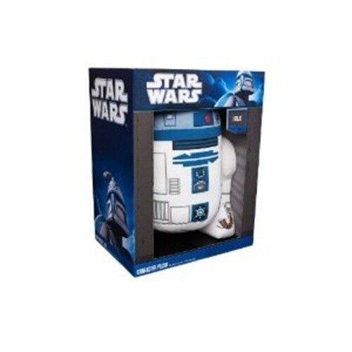 "STAR WARS R2-D2 DELUXE 15/"" TALKING PLUSH BNIB GREAT GIFT"