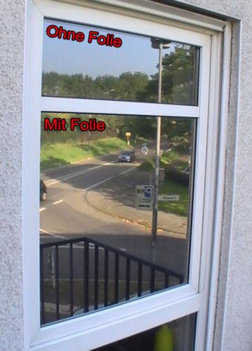 Breite /& Länge wählbar Fensterfolie /& Sonnenschutzfolie Neutral 175 EX dunkel