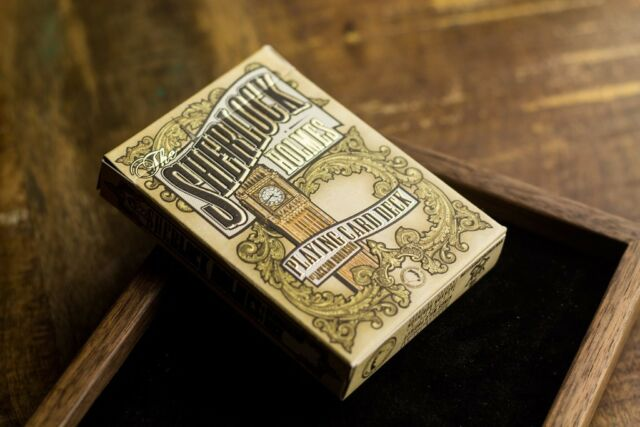 Sherlock Holmes - Bakerstreet Playing Cards Deck New