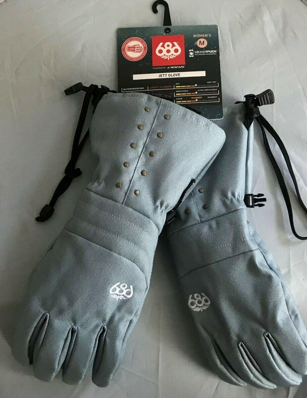 2020 NWT 686 Jett G  G s Snowboard Womens  M Medium bluee Denim 10K yi27  luxury brand