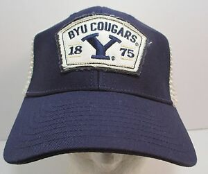 49445912d83 BYU Cougars Hat Cap Trucker Brigham Young NCAA USA Embroidery New
