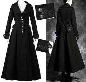 Ebay manteau noir femme