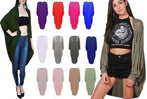 New-Plus-Size-Womens-Batwing-Open-Long-Maxi-Kimono-Shawl-Cardigan-Dress-Top-8-26