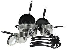 Farberware Reliance Pro 12-Piece Aluminum & Stainless Steel Kitchen Cookware Set