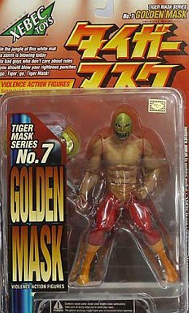 Tiger Man Golden Mask Series  Herren Tigre Japan XEBEC TOYS KAIYODO N.7 FIGURE