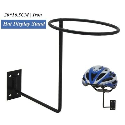 Details about  /1PC Iron Hat Cap Wall Mounted Stand Motorcycle Helmet Ball Holder Wall Hook Rack