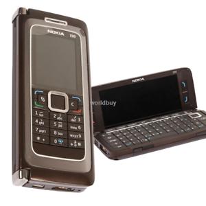 Original-NOKIA-E90-Mobile-Brown-Phone-3G-GPS-Wifi-3-2MP-Bluetooth-Cell-Phone