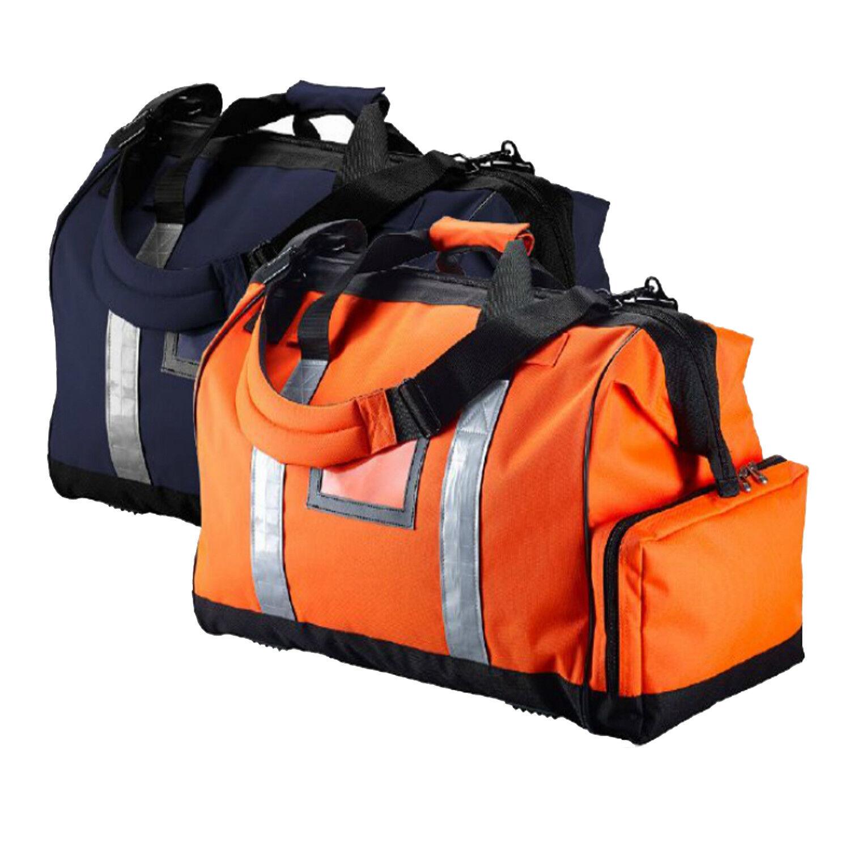 Caribee Wide Mouth Kit Travel Duffel Bag Hi Viz orange