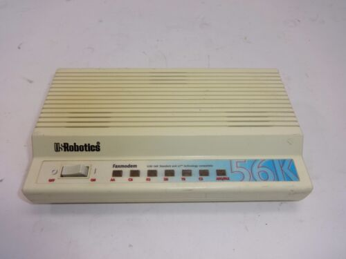 U.S Robotic 56K V.90 External Fax Modem USR5686D