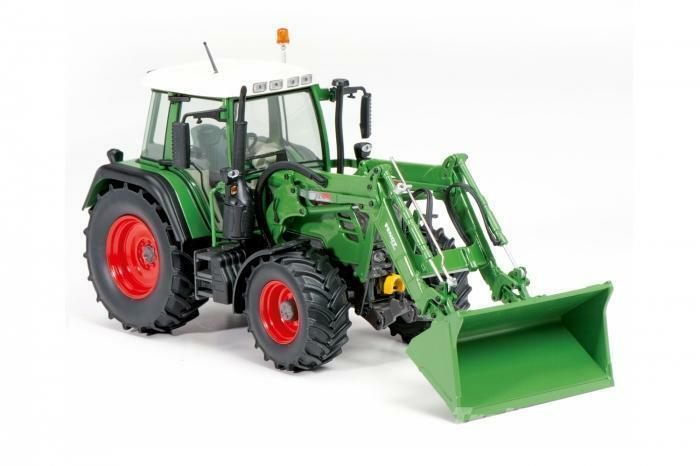 Schuco 1 32 Fendt 313 Vario With Front Loader Tractor 450771200