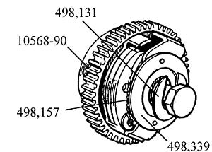 Triunfo-Norton-BSA-LUCAS-MAGNETO-ATD-Centro-Perno-concavo-Taza-Arandela-498339