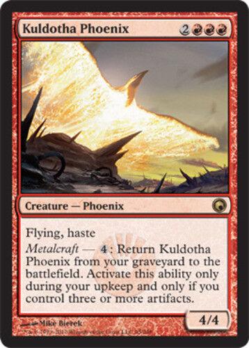 4 Kuldotha Phoenix ~ Near Mint Scars of Mirrodin 4x x4 Playset UltimateMTG Magic