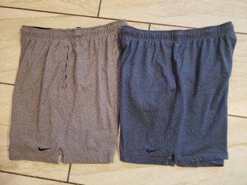 Men's Nike 2 Pair Athletic Shorts XL Drawstring El