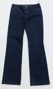 Banana-Republic-Women-s-Size-27-Urban-Trouser-Leg-Jeans-Dark-Wash