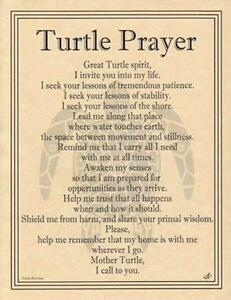 TURTLE-Prayer-Parchment-Page-for-Book-of-Shadows-Altar