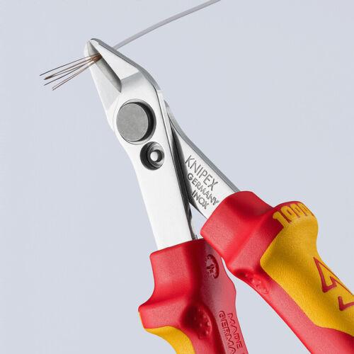 KNIPEX VDE Electronik Seitenschneider Super Knips®  78 06 125mm 7806 Zange