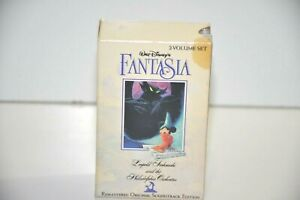 Walt-Disney-039-s-Fantasia-Movie-Soundtrack-2-Audio-Cassette-Tape-Set-Disney