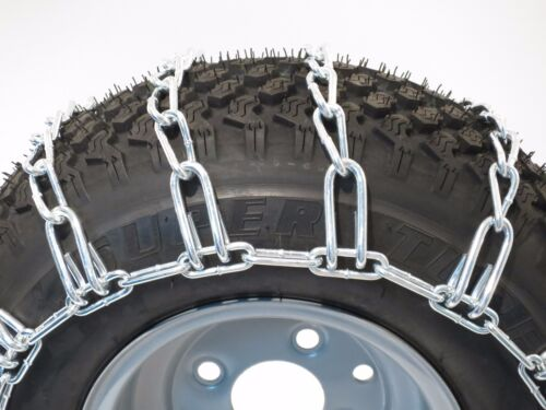 New PAIR 2 Link TIRE CHAINS 18x8.5x10 fits many Honda MUV Pioneer UTV Vehicle