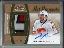 Emile Poirier 15/16 Hot Prospects Autograph Game Jersey Patch RC #178/499