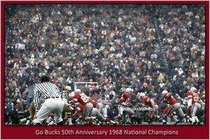 Ohio-State-50th-Anniversary-1968-National-Champions-Vintage-Photograph-3-sizes