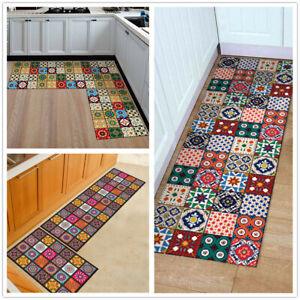 Image Is Loading Flannel Non Slip Doormat Kitchen Bedroom Bath Floor