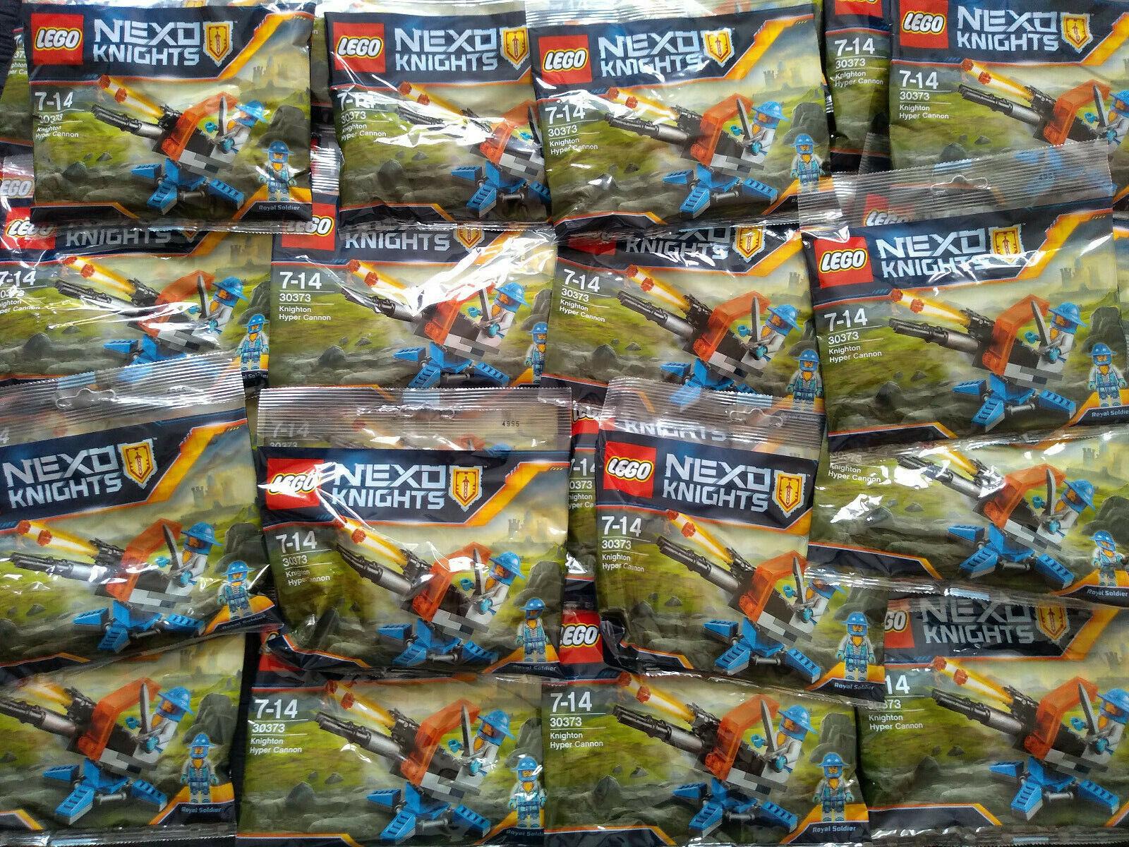 Lego - Nexo  Knights Hyper Cannone 30373 x 30 Sacchetti in Polietilene Lotto Bnip  negozio di sconto