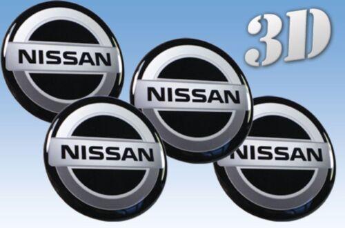Rad Aufkleber Nissan 4x72mm Nachahmung alle Größe Mitte Gap Logo-Badge