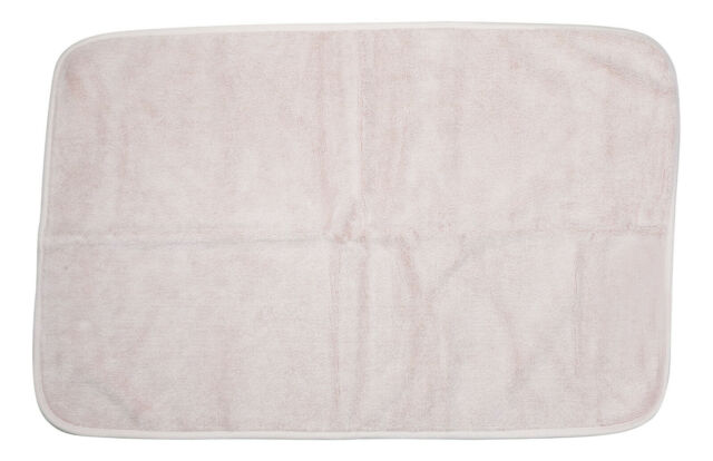 Ralph Lauren Bedford Grey Dawn Tub Mat 21in x 31in NWT