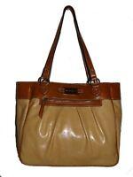 Franco Sarto Women's Chamois/luggage Elizabeth Tote/shoulder Bag/purse/handbag