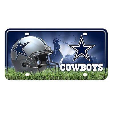 NFL Teams -  Metal License Plate Tag