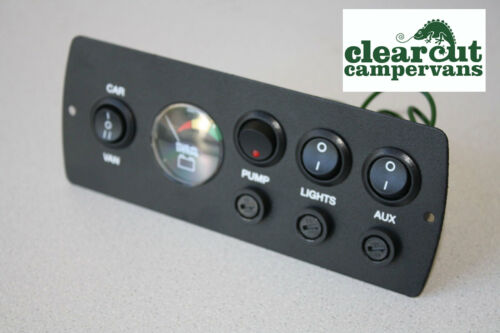 Marine CP3 Power Management Control Panel with 12v Battery Condition Monitor