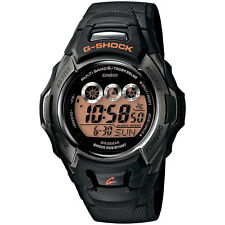 New Casio G-Shock GWM500F-1CR Men's Tough Solar Atomic Black Resin Sport Watch