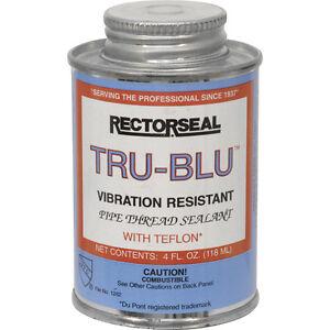Image is loading NEW-Tru-Blu-Pipe-Thread-Sealant-118ml-water-  sc 1 st  eBay & NEW Tru Blu Pipe Thread Sealant 118ml water gas LPG Oil diesel ...