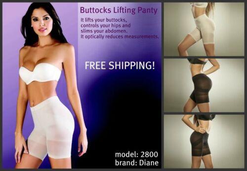 waist cincher girdle buttocks lifting panty shaper  faja colombiana DIANE 2800