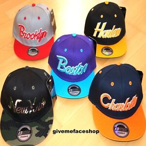 Details about EXCLUSIVE SNAPBACK CAPS, FLAT PEAK BASEBALL FITTED HATS,  RARE, RETRO, VINTAGE