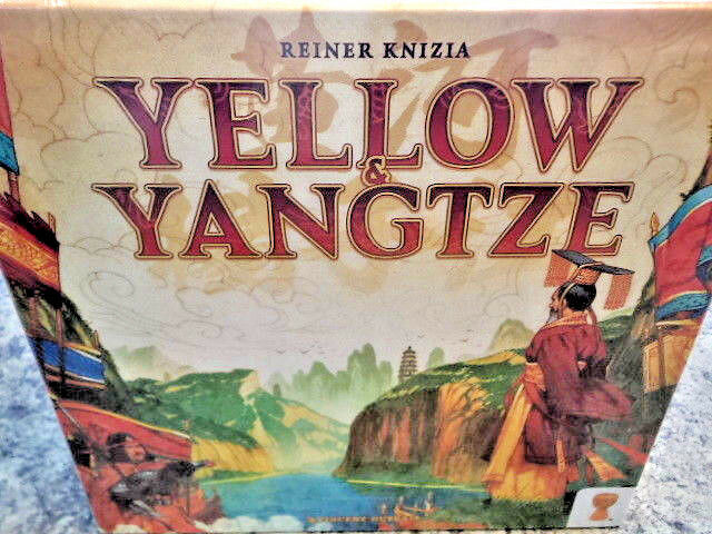 Giallo & Yangtze - Leder Games Board Game Nuovo