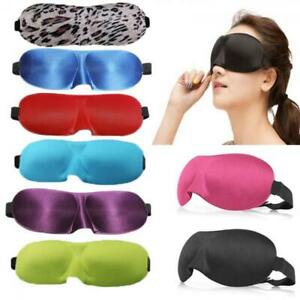Moda-Antifaz-Eyeshade-Mascara-Ojos-Viaje-Dormir-Descansar-Earplug-EyeMask