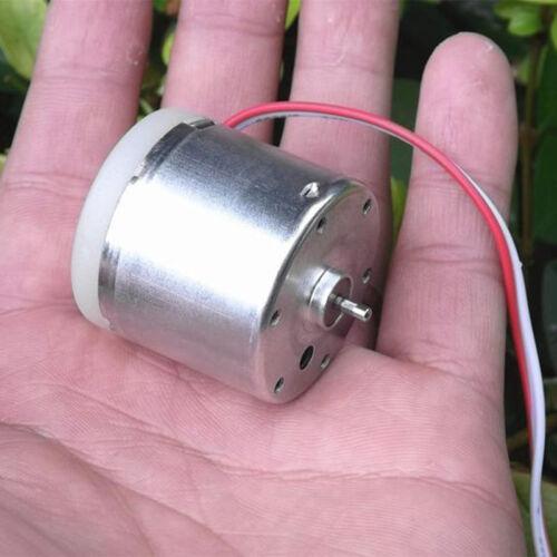 Micro Round 31mm Gear-box Motor DC9V-12V 5300RPM Short Shaft DIY Hobby Toy Model