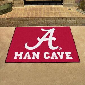 Alabama-Crimson-Tide-Man-Cave-Area-Rugs-Choose-4-Sizes
