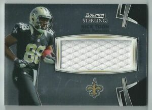 Details about 2012 Bowman Sterling Nick Toon Jumbo Jersey Saints Rookie RC BSJRR-NT