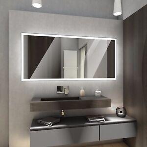 BOSTON Badspiegel mit LED Beleuchtung Badezimmerspiegel BadSpiegel ...