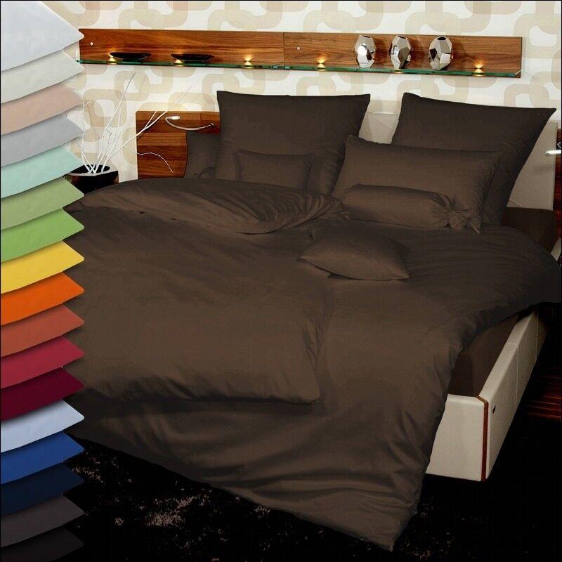 SoniodGold Allegro Microfaser Bettwäsche für Wasserbetten geeignet unifarbig