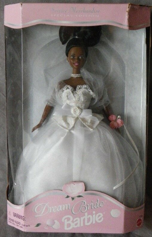 Barbie AA DREAM BRIDE mariage de reve wedding 1996 Mattel 17933 poupee mariée